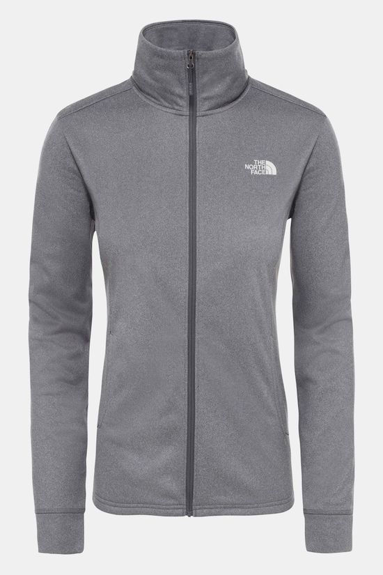 The North Face Quest Midlayer Jas Dames Lichtgrijs Mengeling