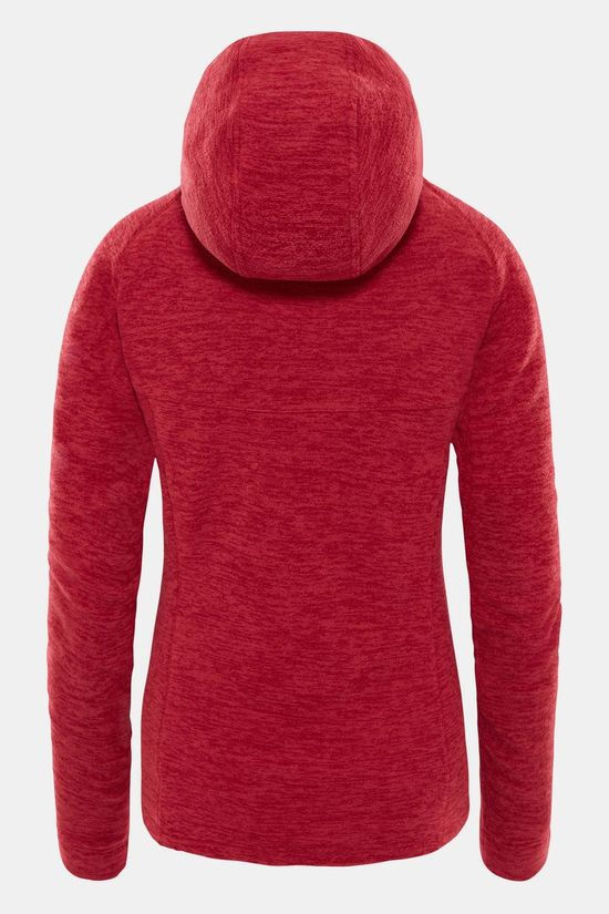 The North Face Nikster Hoodie Fleece Dames Middenrood