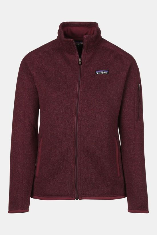 Patagonia Better Sweater Fleecevest Dames Lichtrood
