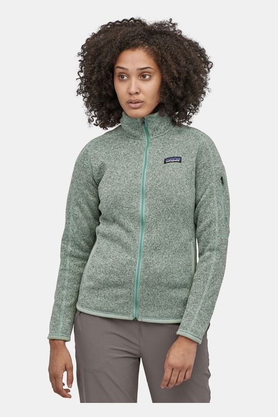 Patagonia Better Sweater Fleecevest Dames Lichtgroen