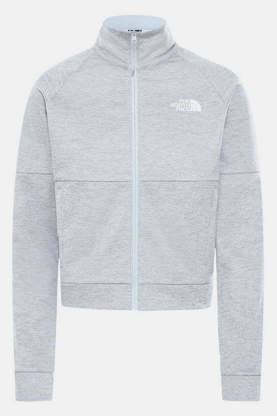The North Face Active Trail Jas met Full-Zip Dames Lichtgrijs Mengeling