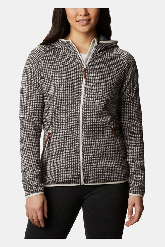 Columbia Chillin Fleece Vest Dames Middengrijs/Ecru