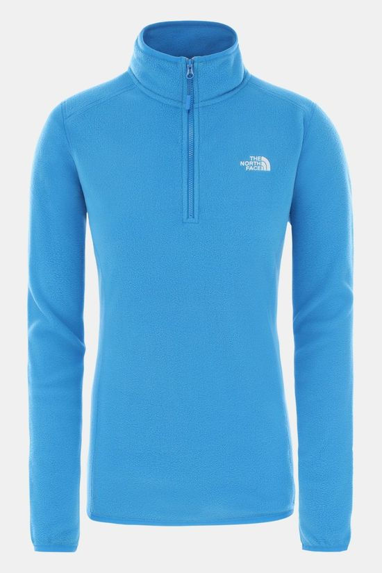The North Face Glacier 1/4 Zip Trui Dames Middenblauw/Blauw