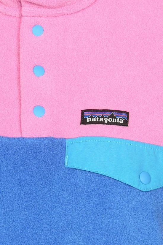 Patagonia Lightweight Synchilla Snap-T Pullover Dames Blauw/Middenroze
