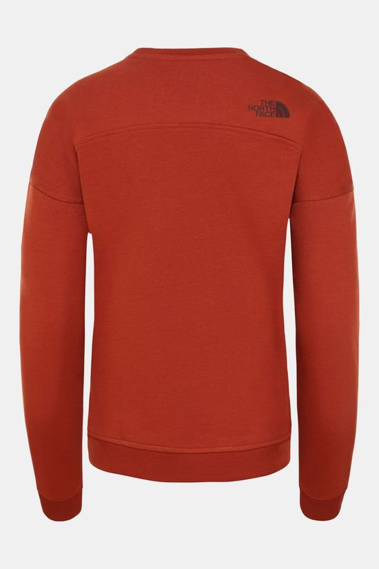 The North Face Drew Peak Crew Trui Dames Rood