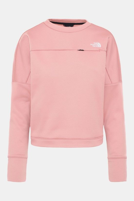 The North Face Hikesteller Pullover Sweater Dames Lichtroze