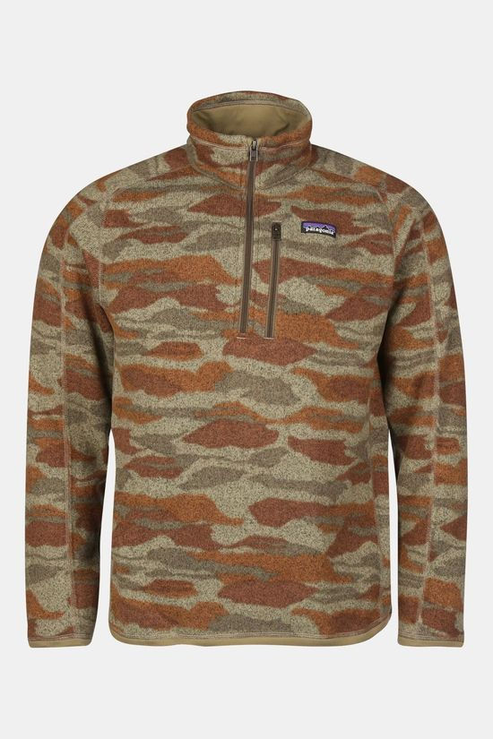 Patagonia Better Sweater 1/4  Middenkaki/Ass. Camouflage