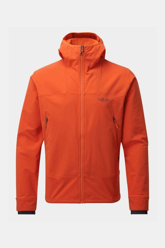 Rab Shadow Hoody Fleece Softshell Oranje
