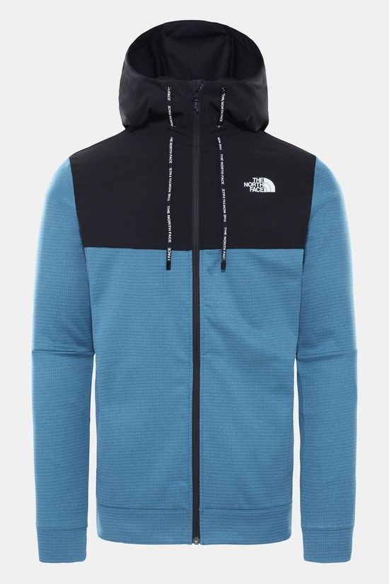 The North Face Train N Logo Overlay Jas Middenblauw