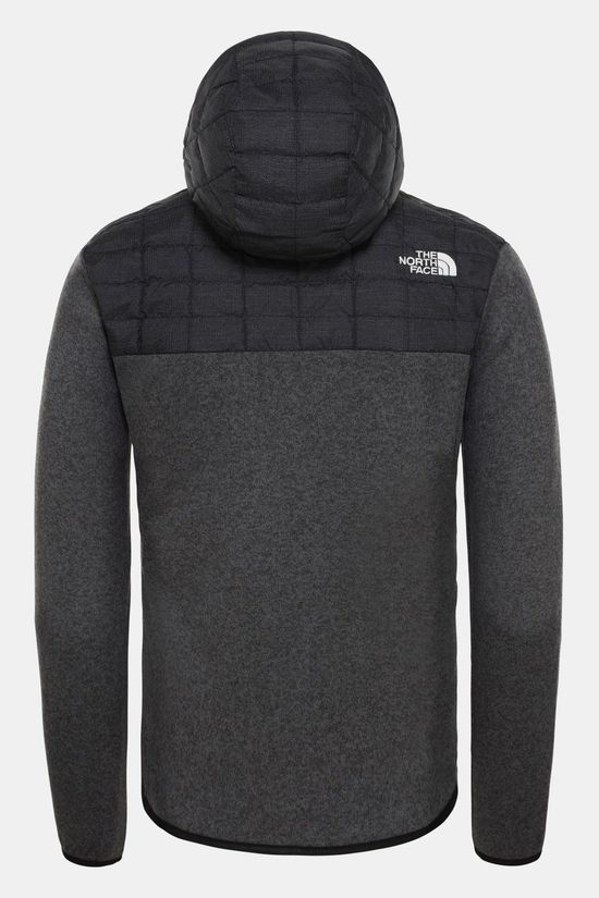 The North Face Thermoball Gordon Lyons Hoodie Zwart/Donkergrijs Mengeling
