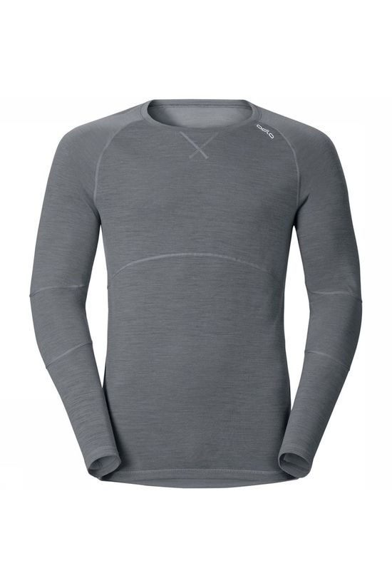 Odlo Revolution Light Crewneck Shirt jeans/Donkerbruin