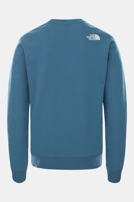 The North Face Drew Peak-sweater Trui Middenblauw/Wit