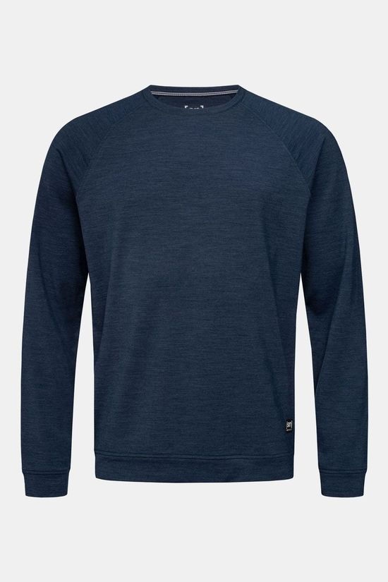Supernatural Essential Raglan Crew Sweater Donkerblauw