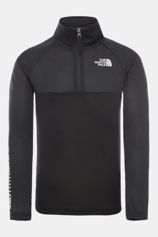 The North Face The North Face Reactor 1/4 Zip Junior Sweater Zwart