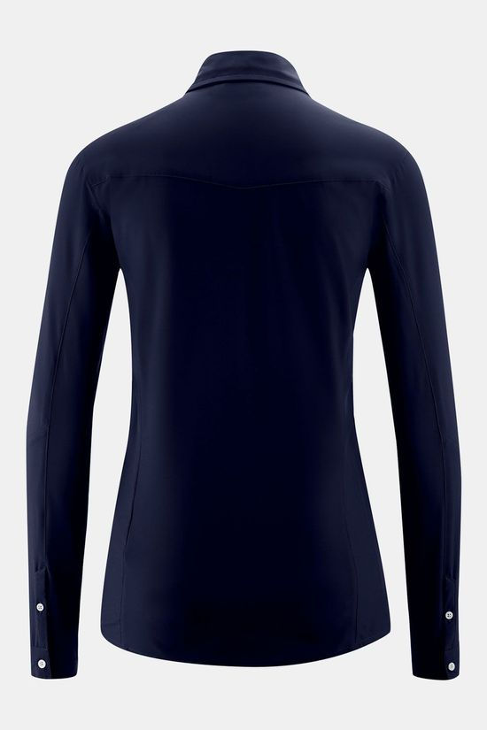 Maier Sports Sinnes Tec Blouse Dames Donkerblauw