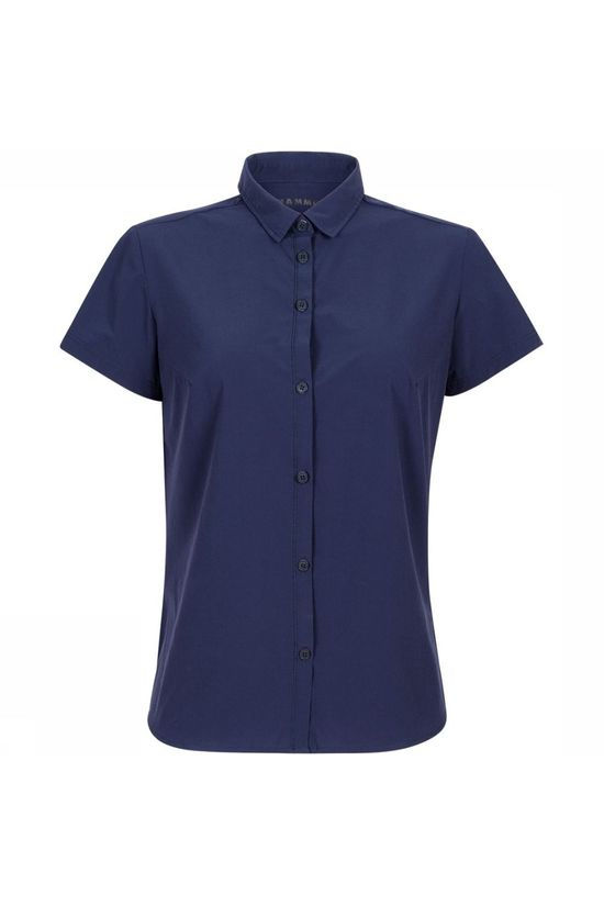 Mammut Trovat Light Shirt Dames Indigo Blauw