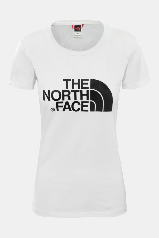 The North Face Easy T-Shirt Dames Wit/Geen Kleur