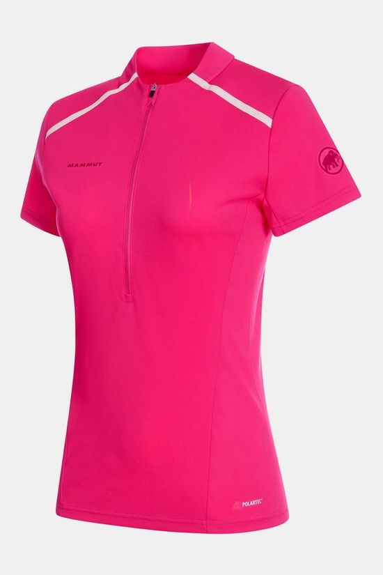 Mammut Atacazo Light Zip Shirt Dames Middenroze