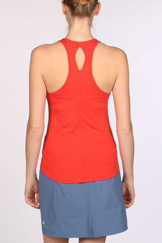 Patagonia Seabrook Run Tank Top Dames Rood