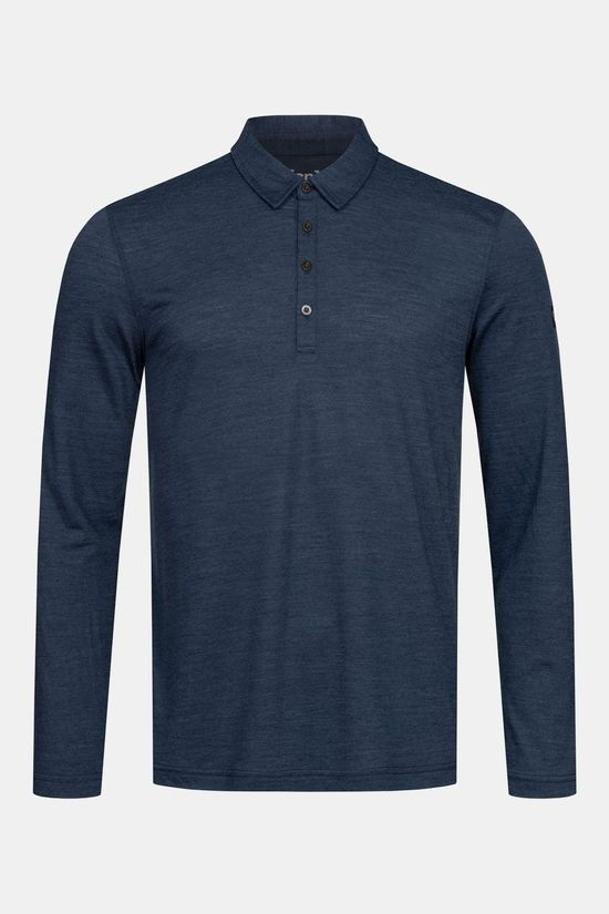 Supernatural Everyday Longsleeve Polo Donkerblauw