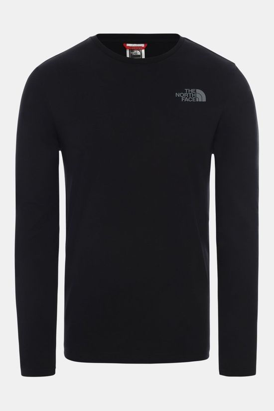 The North Face L/S Easy T-shirt Zwart/Lichtgrijs