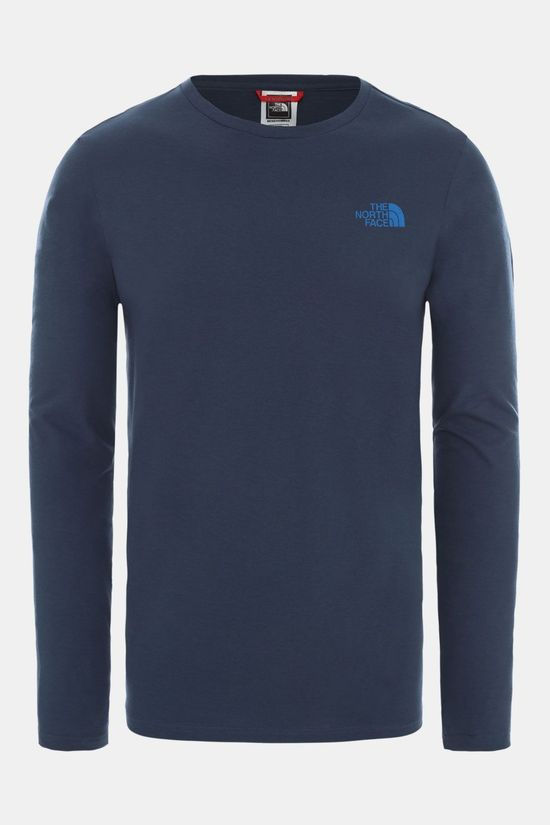 The North Face North Faces Shirt met lange mouwen Indigoblauw