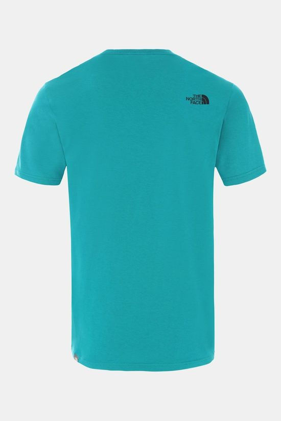 The North Face Mountain Line T-Shirt Petrol
