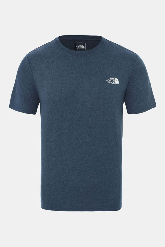 The North Face Reaxion Ampere Crew Shirt Petrol/Lichtgrijs
