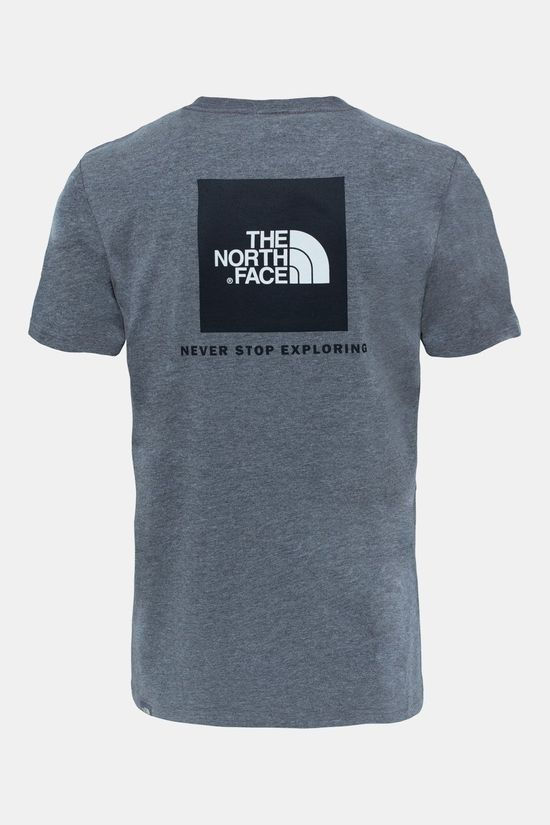 The North Face Red Box T-shirt Lichtgrijs Mengeling