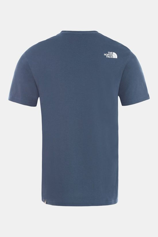 The North Face Simple Dome SS Shirt Indigo Blauw/Donkerblauw