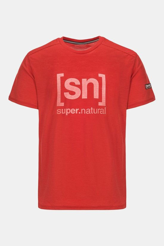 Supernatural Essential I.D. T-shirt Donkerrood