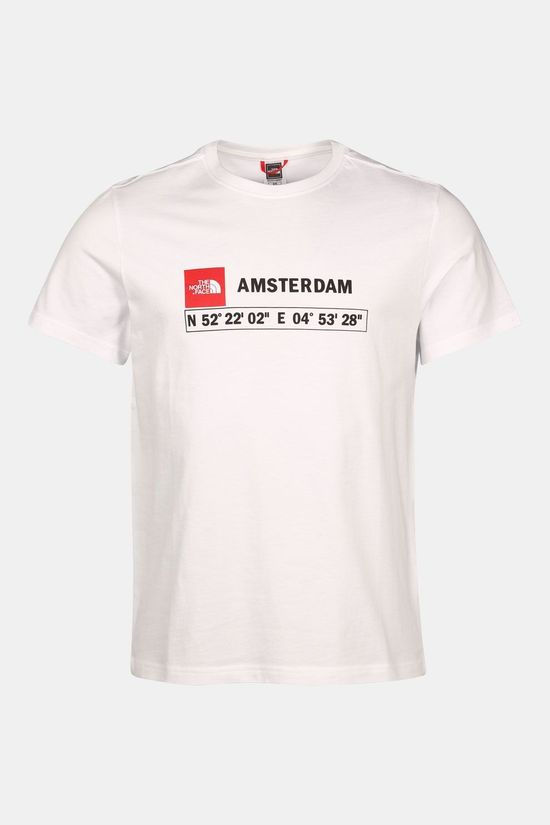 The North Face GPS Tee Amsterdam Shirt Wit