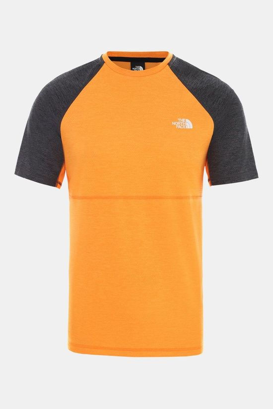 The North Face Varuna T-shirt Oranje/Donkergrijs Mengeling