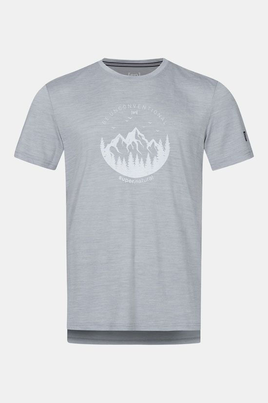 Supernatural Graphic T-shirt Lichtgrijs