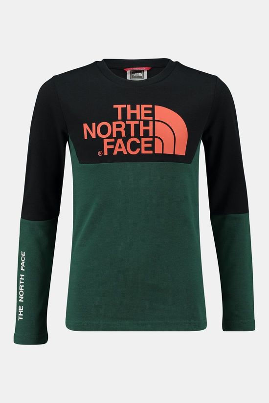 The North Face Youth South Peak T-shirt Junior Donkergroen/Zwart