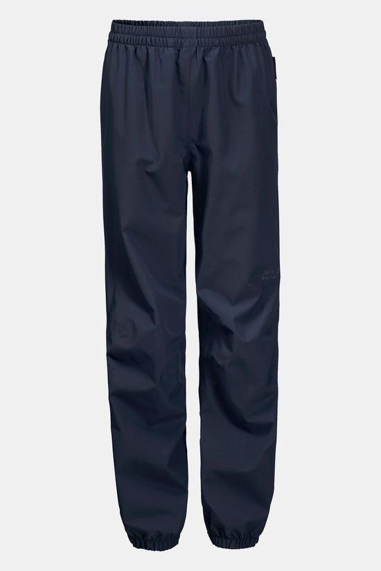 Jack Wolfskin Rainy Days Broek Junior Donkerblauw