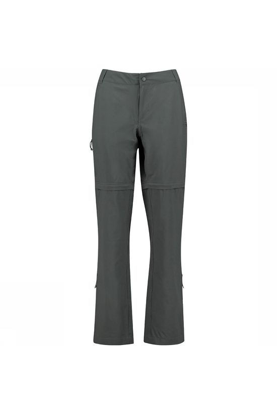 The North Face Exploration Convertible Regular Broek Dames Donkergrijs