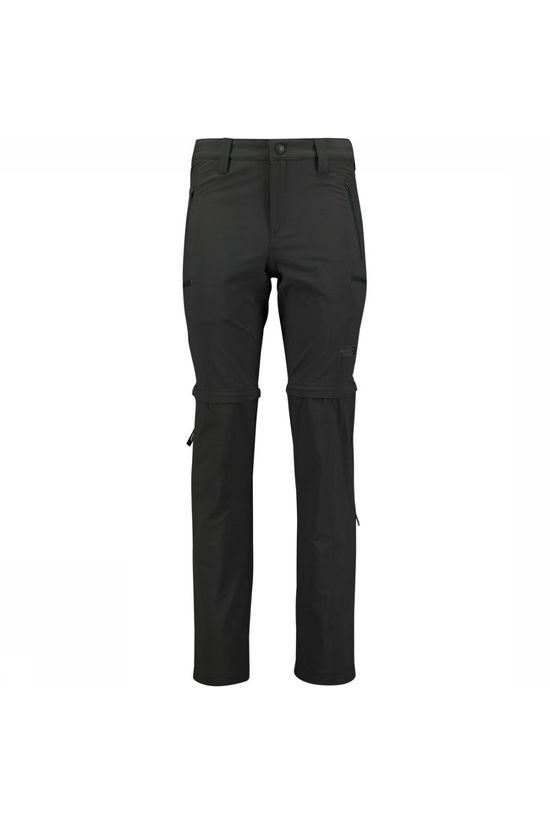 The North Face Exploration Convertible Regular Broek Donkergrijs