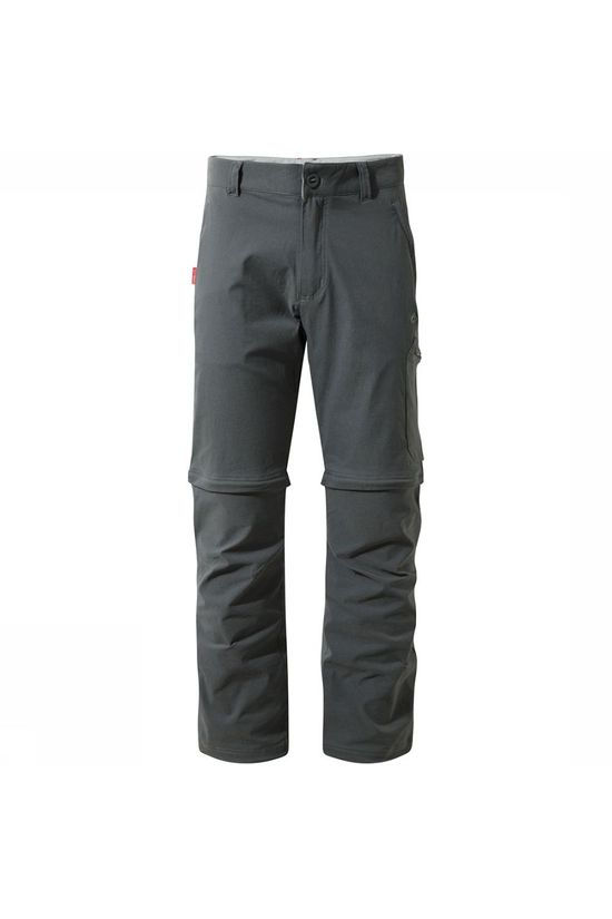 Craghoppers Nosilife Pro Convertible Long Broek Donkergrijs