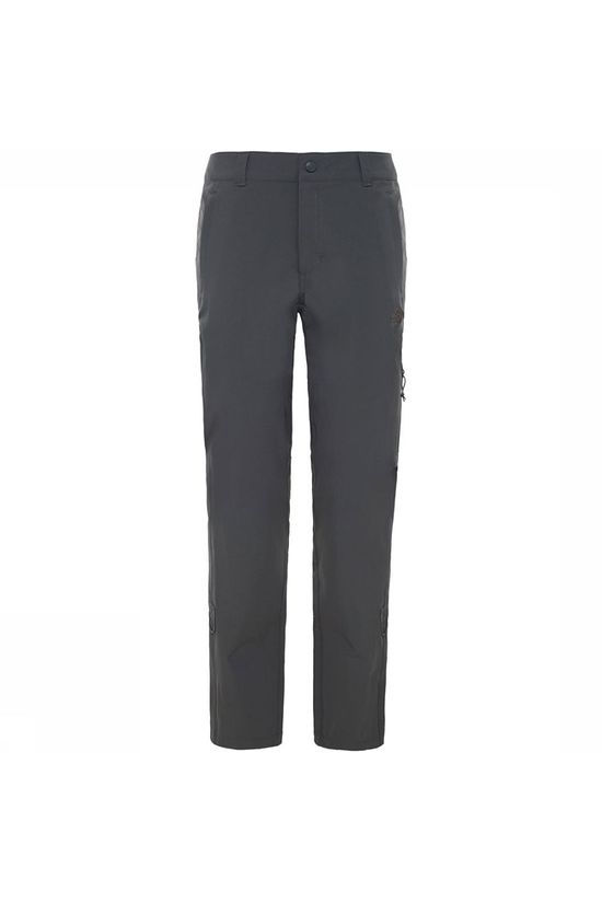 The North Face Exploration Regular Broek Dames Donkergrijs