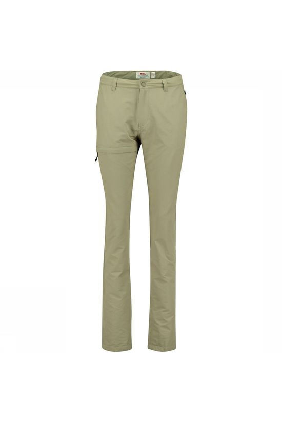 Fjällräven Travellers Broek Regular Dames Middenkaki