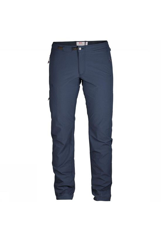 Fjällräven High Coast Trail Regular Broek Dames Marineblauw