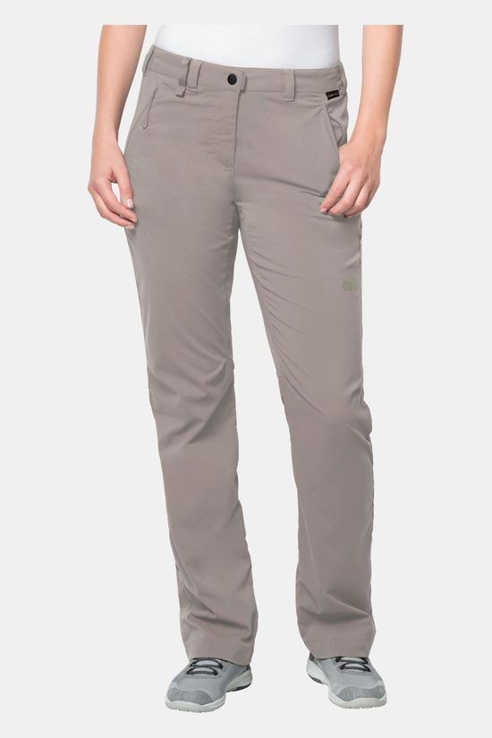 Jack Wolfskin Activate Light Broek Dames Lichtkaki