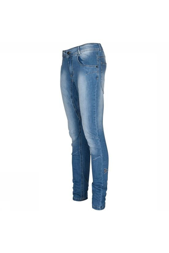 Nihil Dharma Jeans Dames Middenblauw