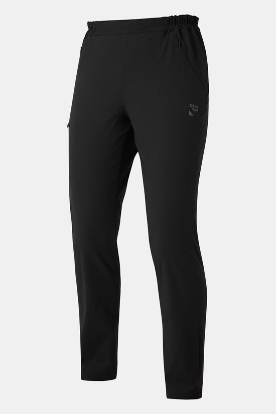 Sprayway Warm Escape Slim Broek Kort Dames Zwart