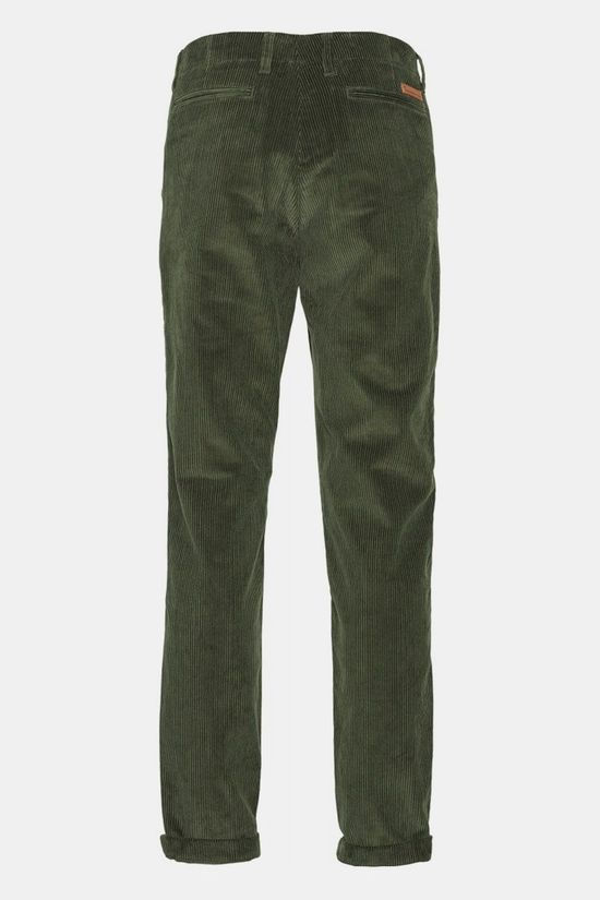 Knowledge Cotton Apparel Chuck 8 Wales Corduroy Chinos - Gots/Vegan Middengroen