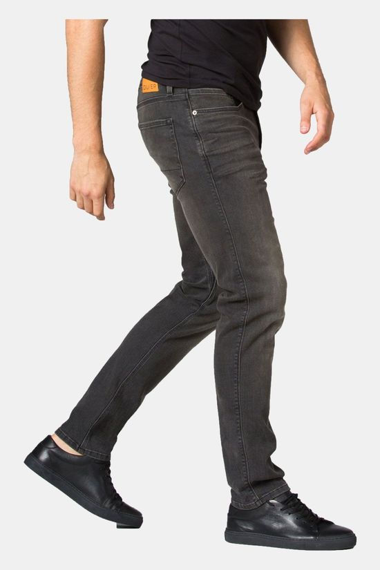 Duer Performance Denim Broek Slim Fit Donkergrijs