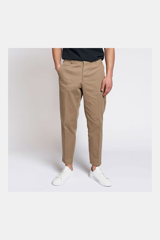 woodbird Tien Buzz Pantalon Zandbruin