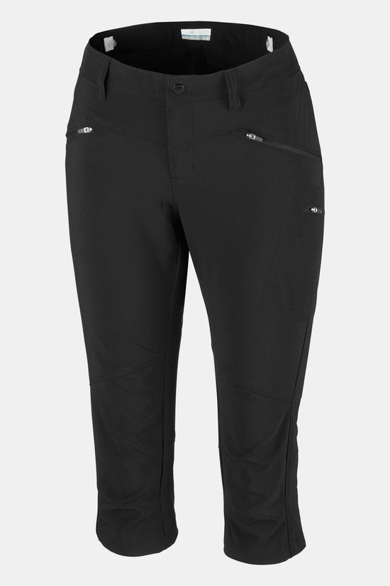 "Columbia Peak to Point 18"" Knee Broek Dames Zwart"