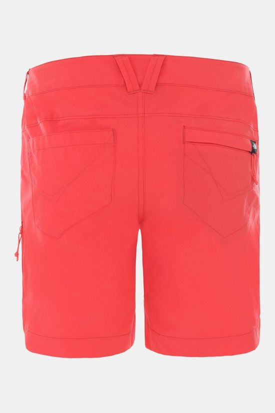 The North Face Exploration Short Dames Rood